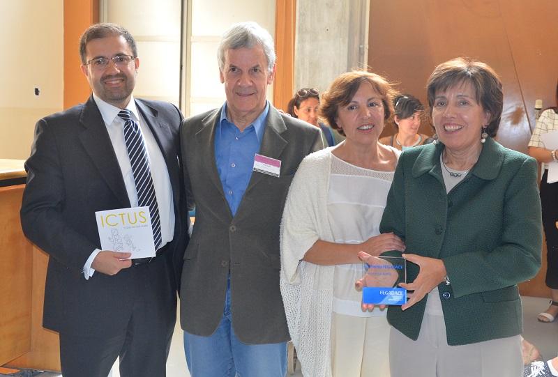 Entrega do III Premio FEGADACE