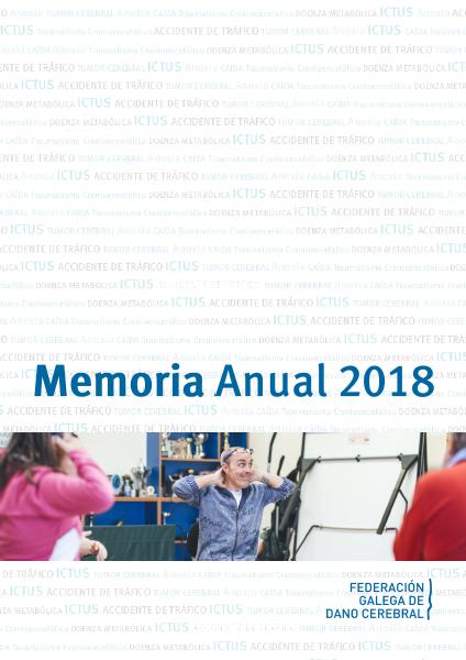 Portada da Memoria Anual 2018